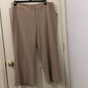 Style &Co. Pants, Solid Wide Leg